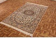 Link to 4' 3 x 6' 6 Nain Persian Rug