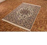 Link to 4' 2 x 6' 2 Nain Persian Rug