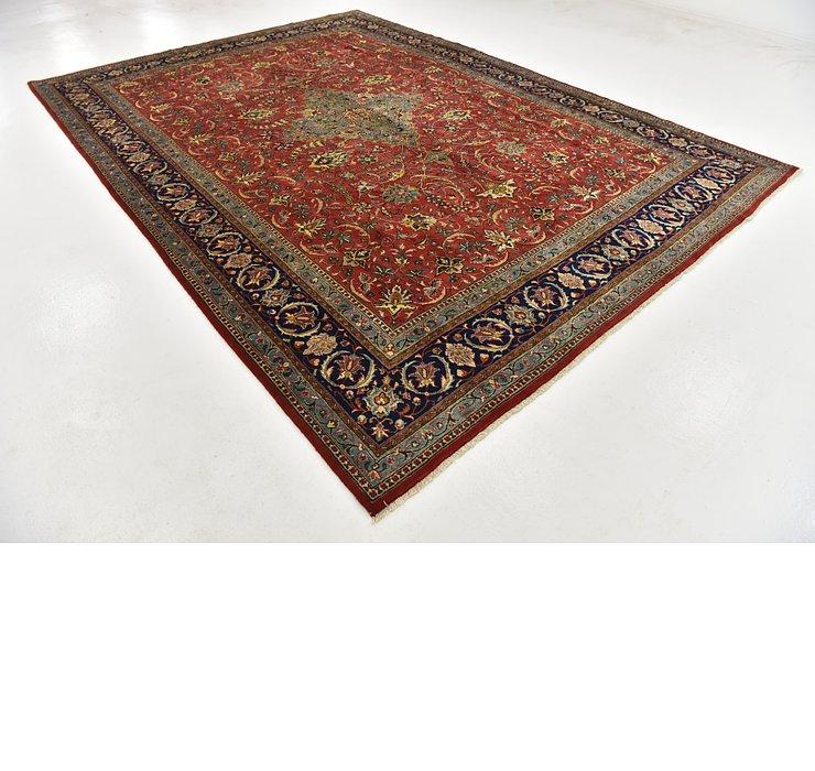 9' 1 x 12' 10 Sarough Persian Rug