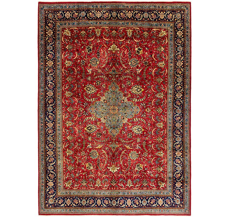 HandKnotted 9' 1 x 12' 10 Sarough Persian Rug
