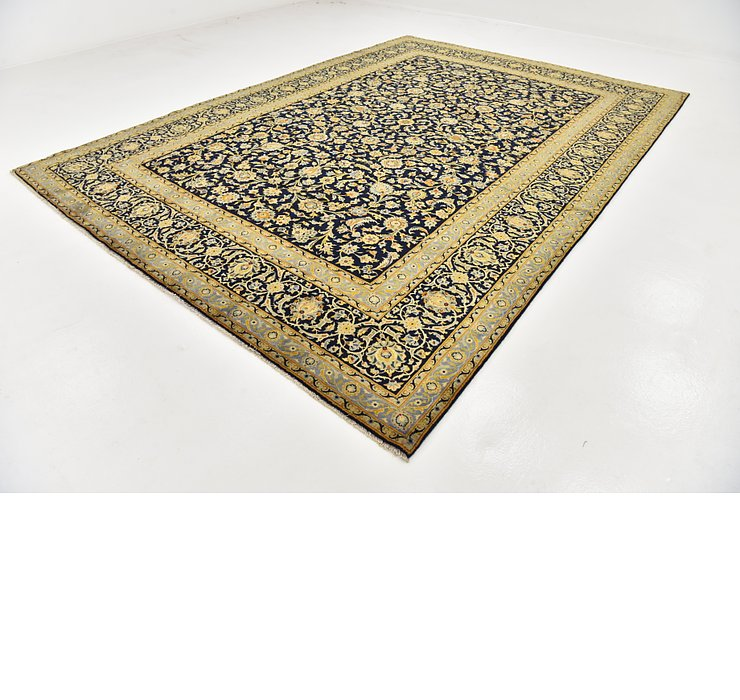 HandKnotted 9' 7 x 13' 4 Kashan Persian Rug