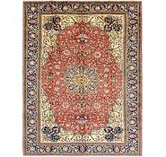 Link to 9' 3 x 12' Qom Persian Rug