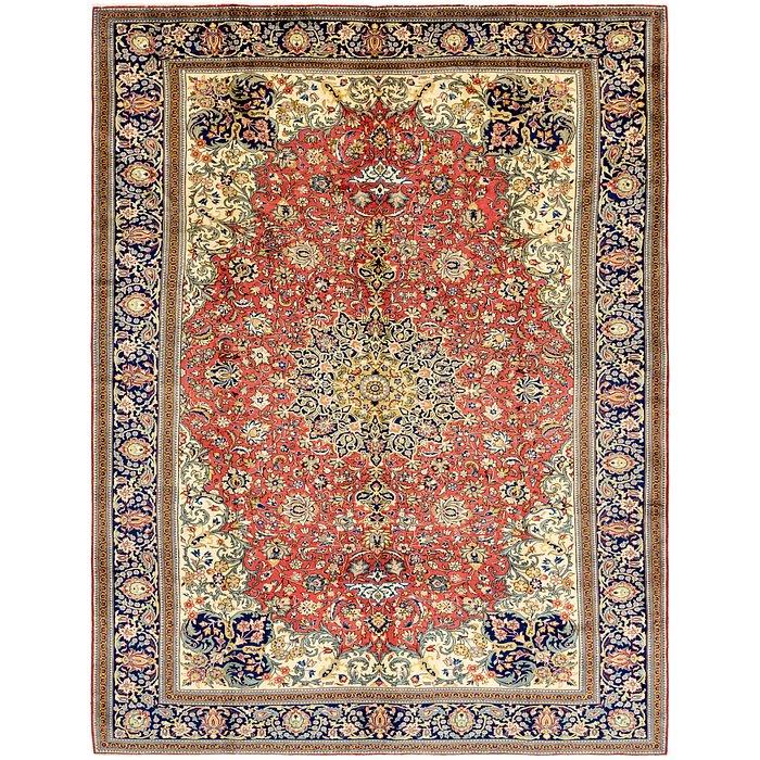 9' 3 x 12' Qom Persian Rug