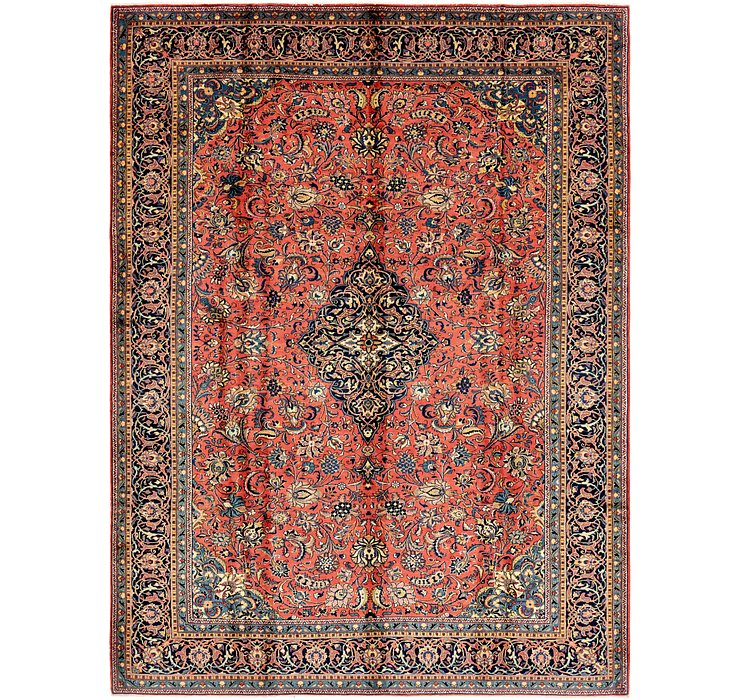 HandKnotted 9' 5 x 12' 9 Sarough Persian Rug