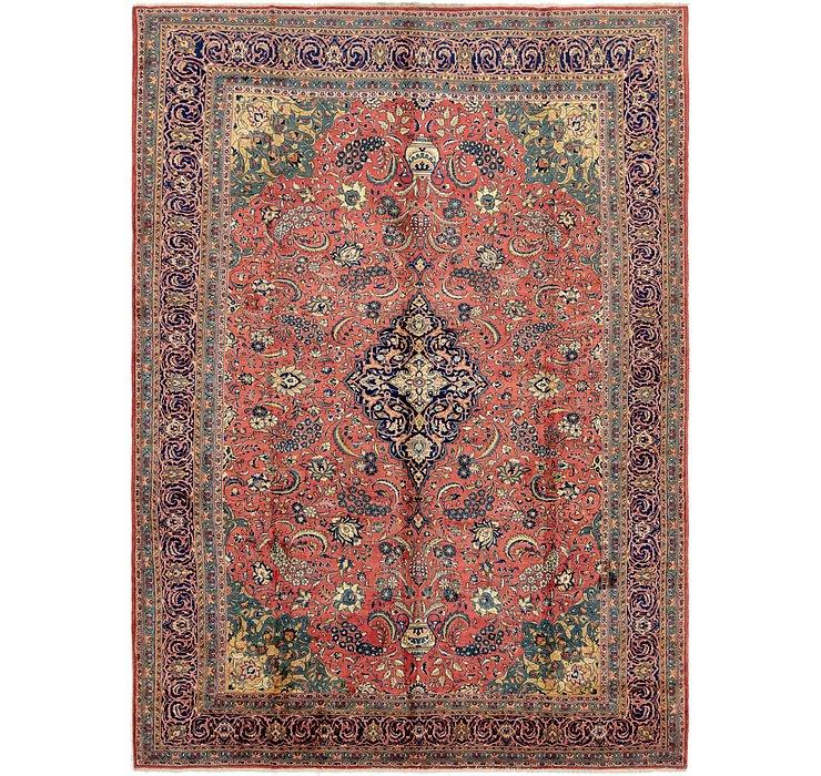 9' 10 x 13' 7 Sarough Persian Rug