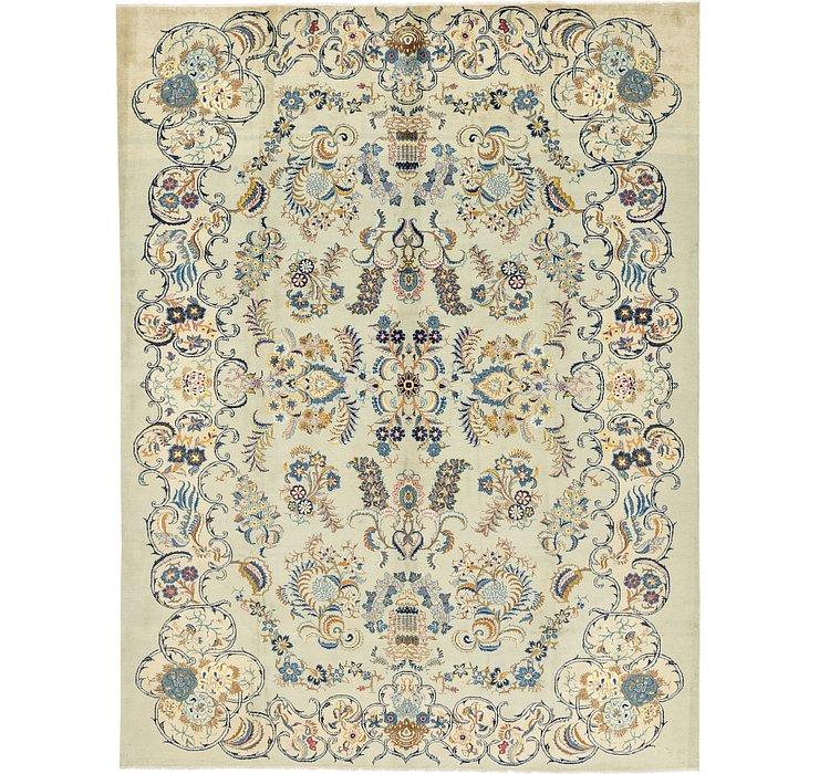 9' 8 x 12' 8 Kashan Persian Rug