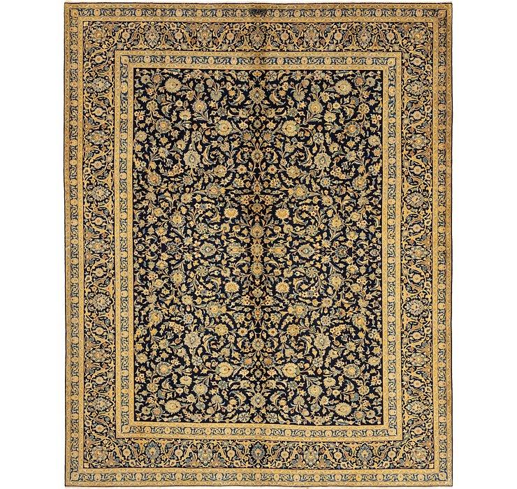 10' 3 x 12' 9 Kashan Persian Rug