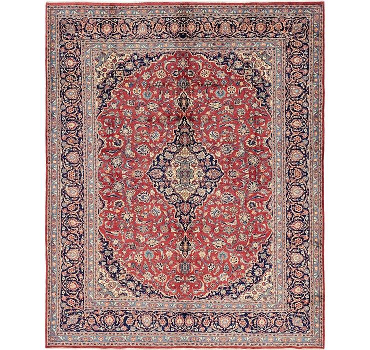 10' 4 x 12' 8 Kashan Persian Rug