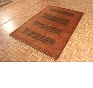 Link to 4' 7 x 6' 7 Kashkuli Gabbeh Persian Rug