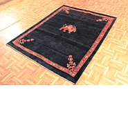 Link to 4' 9 x 6' 2 Kashkuli Gabbeh Persian Rug