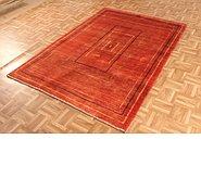 Link to 4' 8 x 6' 9 Kashkuli Gabbeh Persian Rug