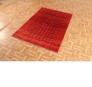 Link to 3' 9 x 5' 6 Kashkuli Gabbeh Persian Rug