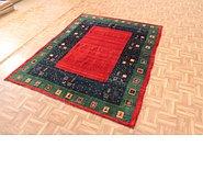Link to 5' 3 x 7' Kashkuli Gabbeh Persian Rug