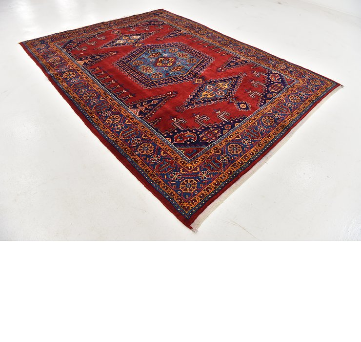HandKnotted 7' 7 x 10' Viss Persian Rug
