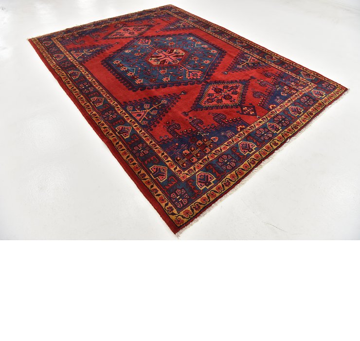 HandKnotted 7' 6 x 10' 2 Viss Persian Rug