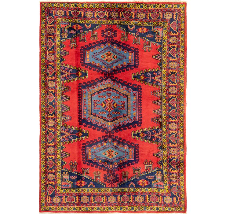 7' 1 x 10' 1 Viss Persian Rug
