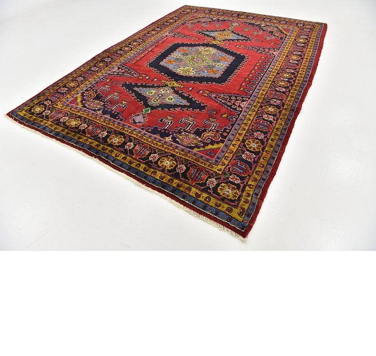 HandKnotted 7' 6 x 10' 3 Viss Persian Rug