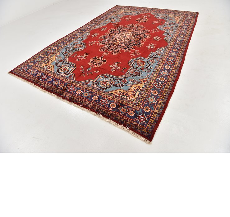 HandKnotted 7' 6 x 11' Viss Persian Rug