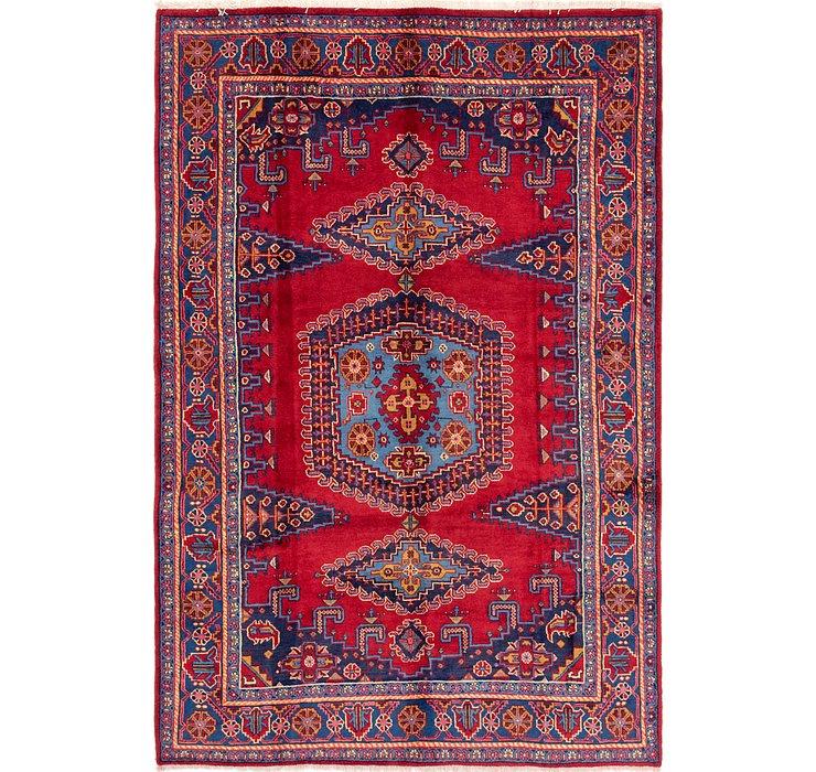 6' 10 x 10' 4 Viss Persian Rug
