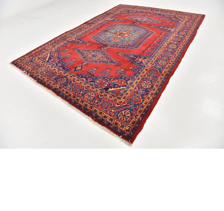 HandKnotted 7' 9 x 11' 4 Viss Persian Rug