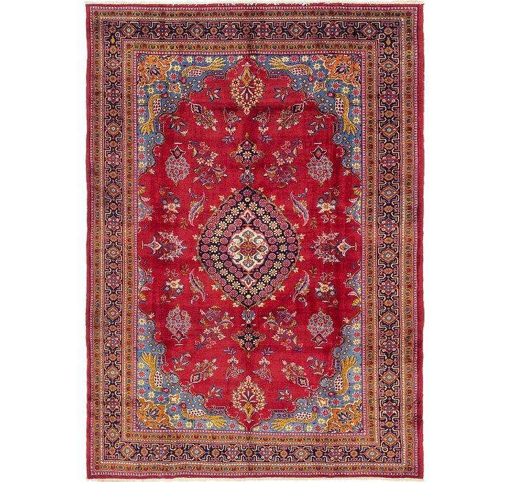 8' x 11' 7 Golpayegan Persian Rug