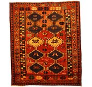 Link to 5' 3 x 6' 2 Kurdish Berber Persian Square Rug