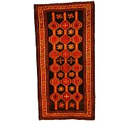 Link to 3' 10 x 7' 8 Kurdish Berber Persian Runner Rug