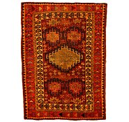 Link to 5' x 6' 11 Kurdish Berber Persian Rug