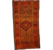 Link to 4' 8 x 8' 9 Kurdish Berber Persian Rug