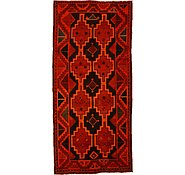 Link to 4' 1 x 8' 10 Kurdish Berber Persian Rug