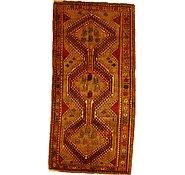 Link to 4' 3 x 8' 11 Kurdish Berber Persian Rug