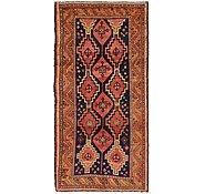 Link to 4' 9 x 9' 6 Kurdish Berber Persian Rug