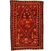 Link to 4' 4 x 6' 5 Kurdish Berber Persian Rug