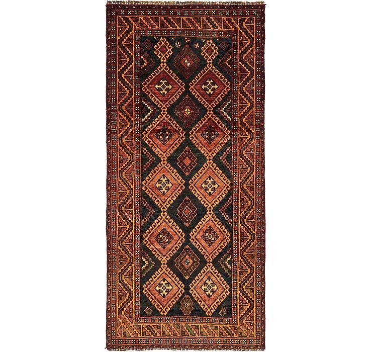 4' 7 x 9' 9 Kurdish Berber Persian ...