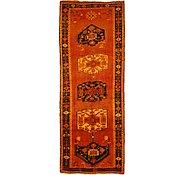 Link to 4' 6 x 11' 10 Kurdish Berber Persian Runner Rug