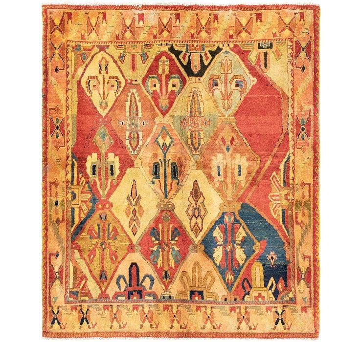 5' 9 x 7' Bakhtiari Persian Rug