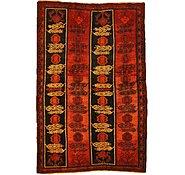 Link to 5' 2 x 8' Kurdish Berber Persian Rug