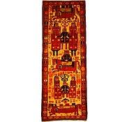 Link to 4' 9 x 12' 9 Kurdish Berber Persian Runner Rug