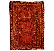 Link to 4' 5 x 5' 11 Kurdish Berber Persian Rug