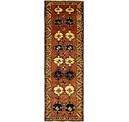 Link to 4' 6 x 13' Shiraz Persian Runner Rug