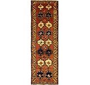 Link to 4' 6 x 13' Shiraz Persian Runner Rug