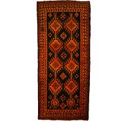 Link to 4' 1 x 9' 5 Kurdish Berber Persian Runner Rug