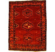 Link to 4' 6 x 5' 11 Kurdish Berber Persian Rug