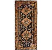 Link to 4' 9 x 9' 9 Kurdish Berber Persian Runner Rug