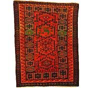 Link to 4' 8 x 6' 2 Kurdish Berber Persian Rug