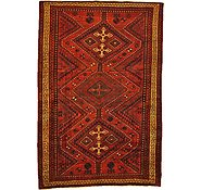Link to 5' 7 x 8' 3 Kurdish Berber Persian Rug
