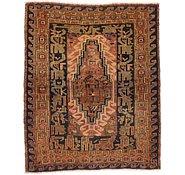 Link to 4' 5 x 5' 7 Shiraz Persian Rug
