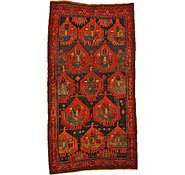 Link to 4' 7 x 8' 8 Sirjan Persian Rug