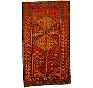 Link to 3' 9 x 6' 7 Kurdish Berber Persian Rug