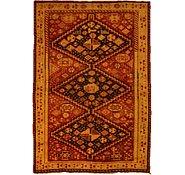 Link to 4' 5 x 6' 6 Kurdish Berber Persian Rug